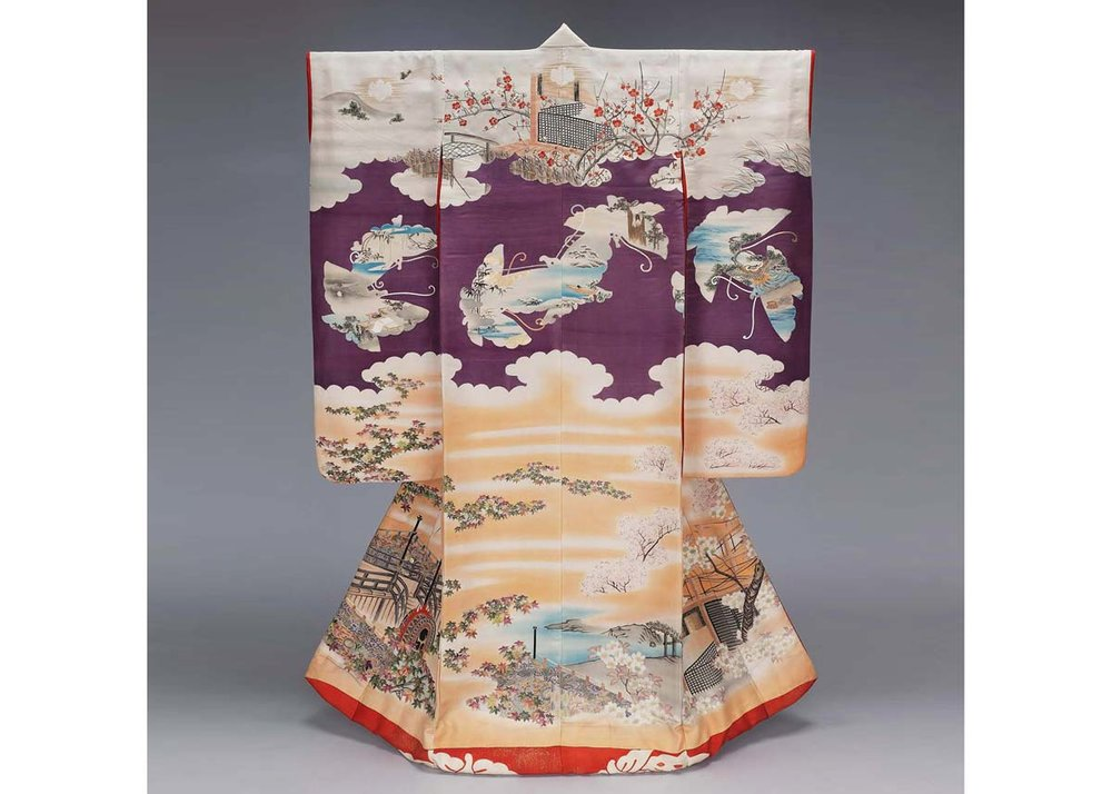 Uchikake, from the  Museum of Fine Arts, Boston