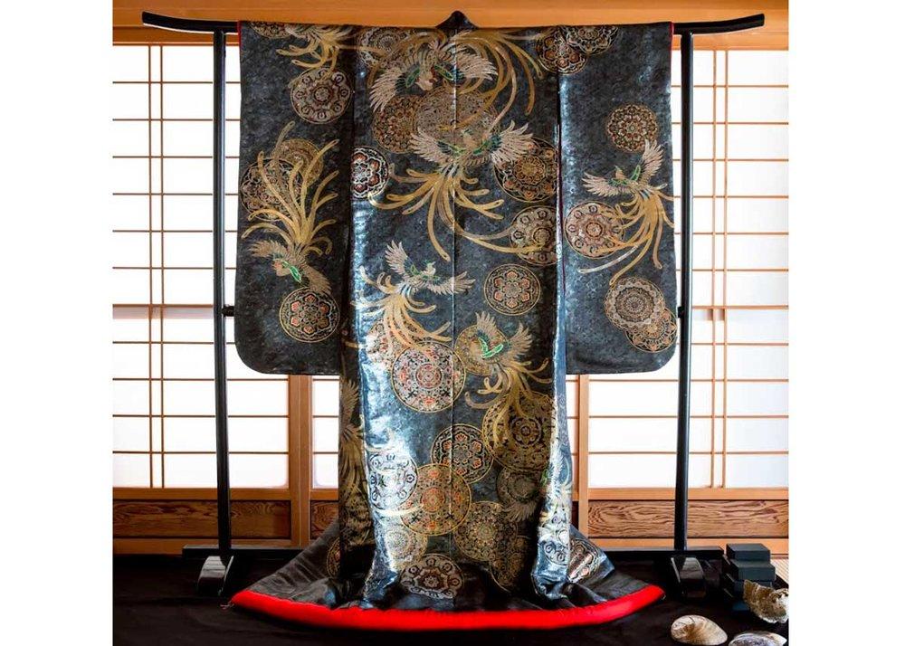 © Tamiya Raden , Shell Kimono