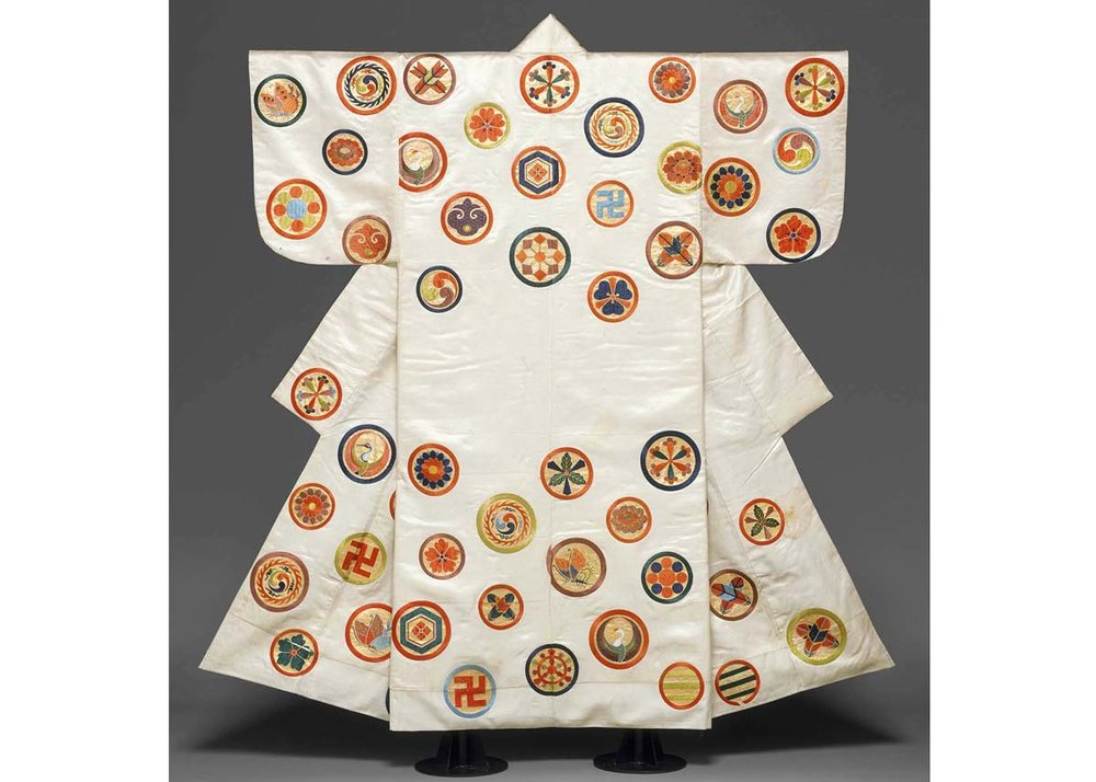 Noh Costume with Crests, from the  Met Museum