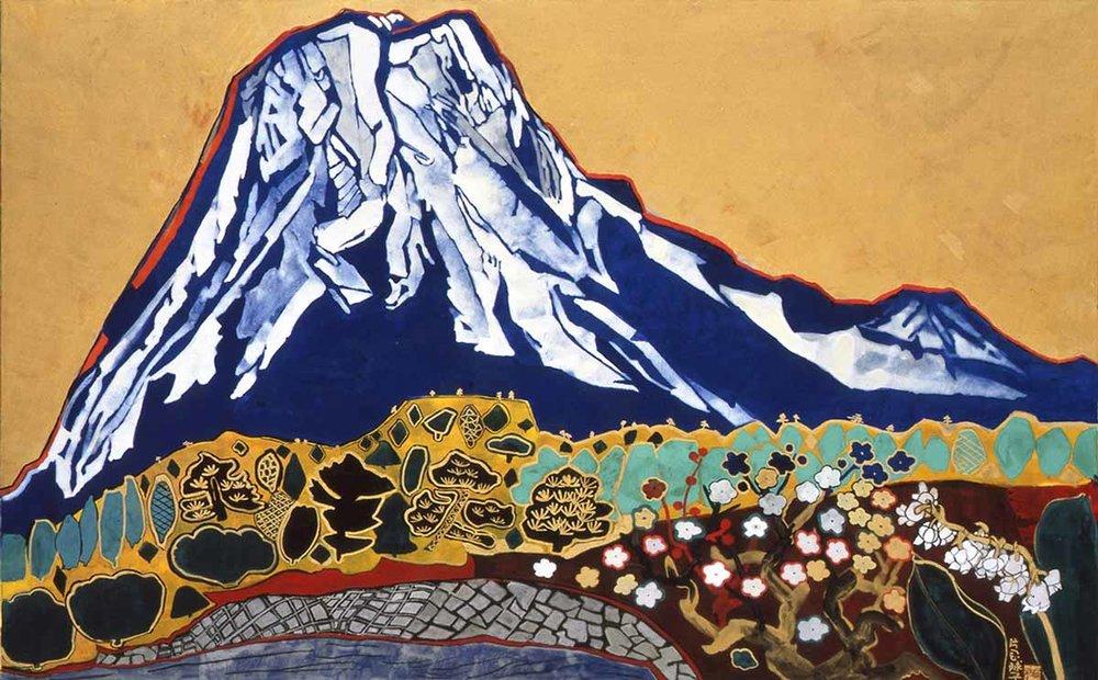© Tamako Kataoka, Auspicious Mount Fuji, 1991,  Tokyo Art Club