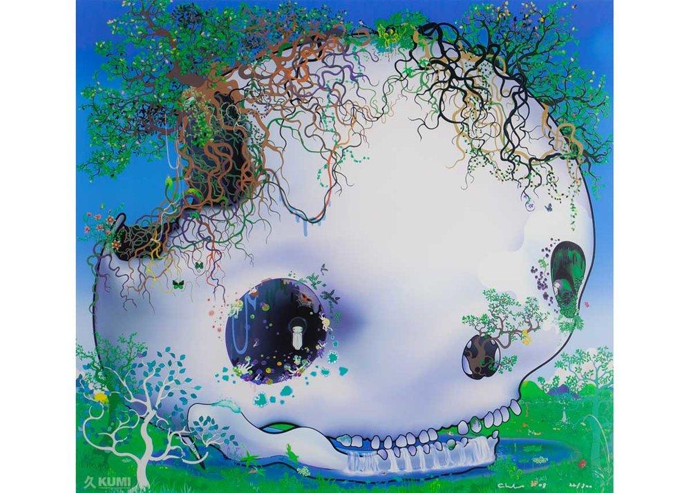 © Chiho Aoshima, The Fountain of the Skull, 2008,  Kumi Contemporary Art