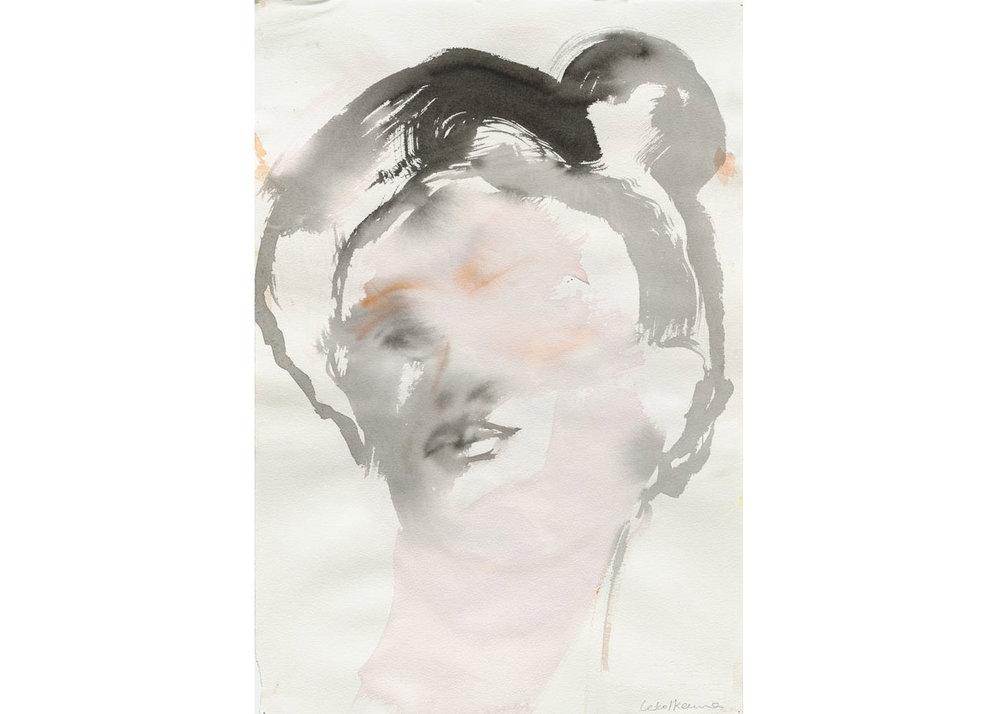©  Leiko Ikemura , Face (Frieda), 2008