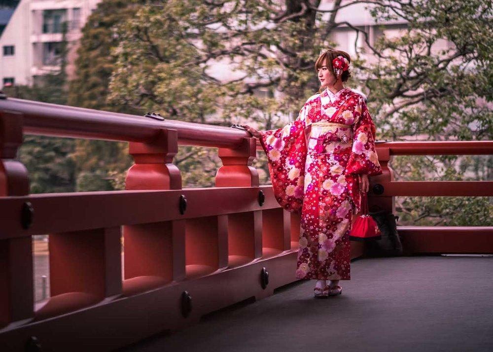 ©  Giuseppe Milo  /  Creative Commons , Kimono Girl, Tokyo
