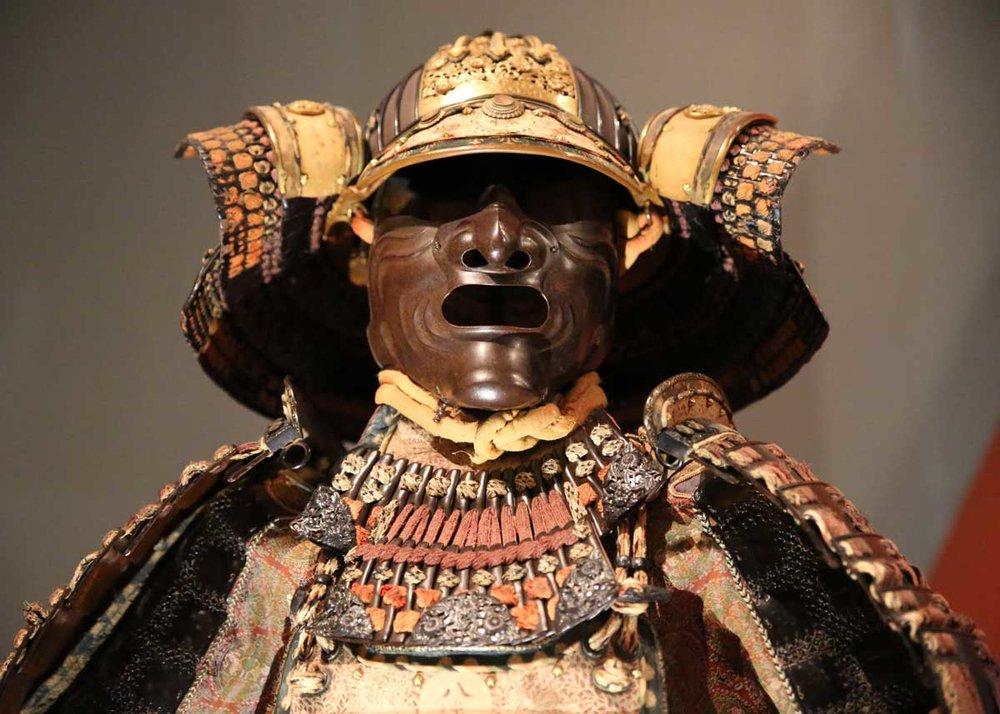 ©  Adam Espinoza  /  Creative Commons , Samurai Armor and Helmet