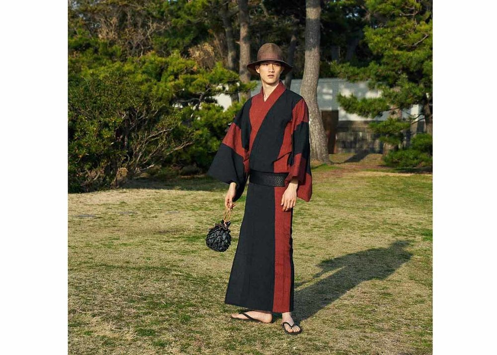 ©Y and Sons, Mens Kimono