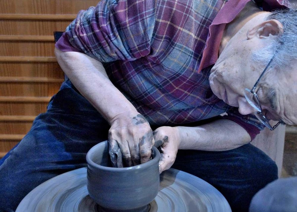 Bizen-ware on a Wheel
