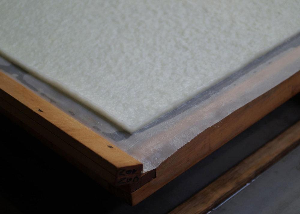 ©  Awagami Factory , Washi Paper Before Drying