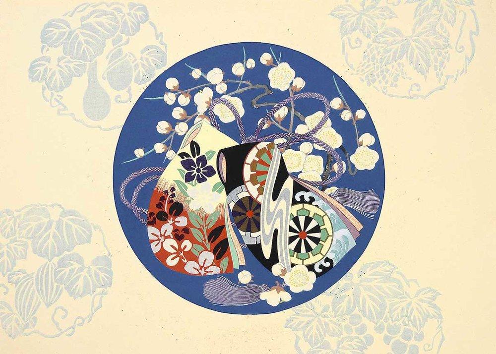 Washi Paper Design, 1900s