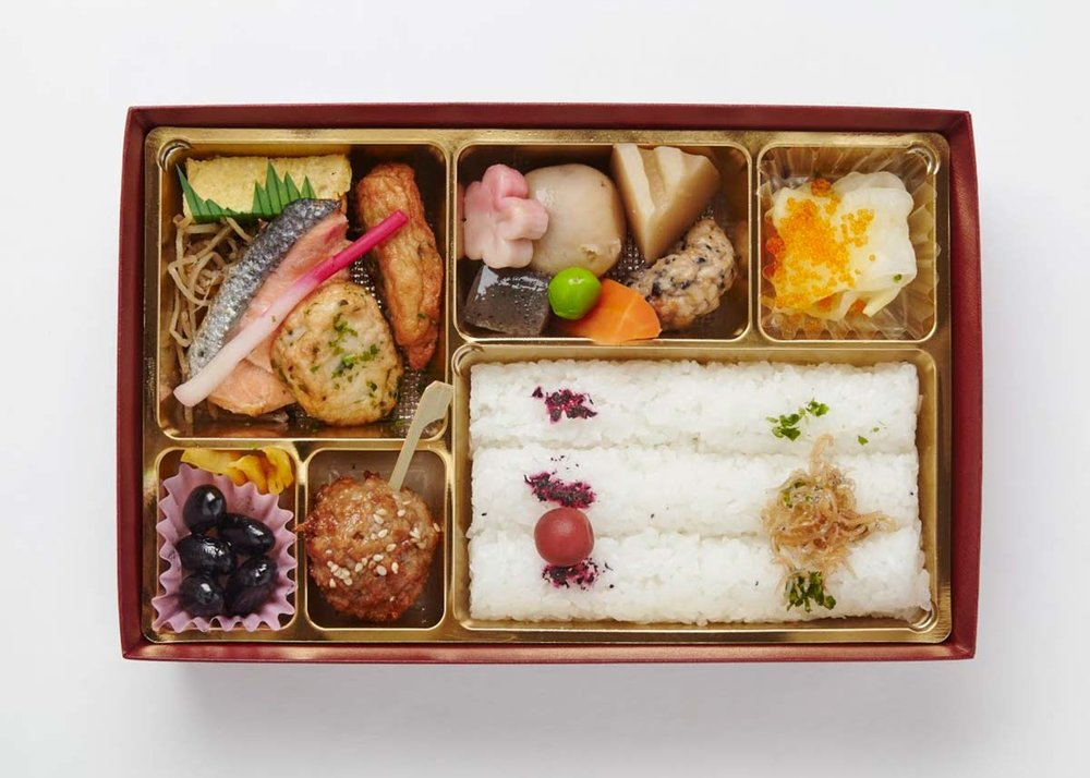 ©  NHK Educational , Makunouchi Bento