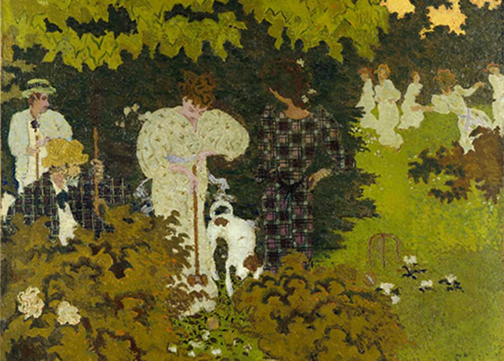 Pierre Bonnard, Twilight: The Croquet Game, 1892
