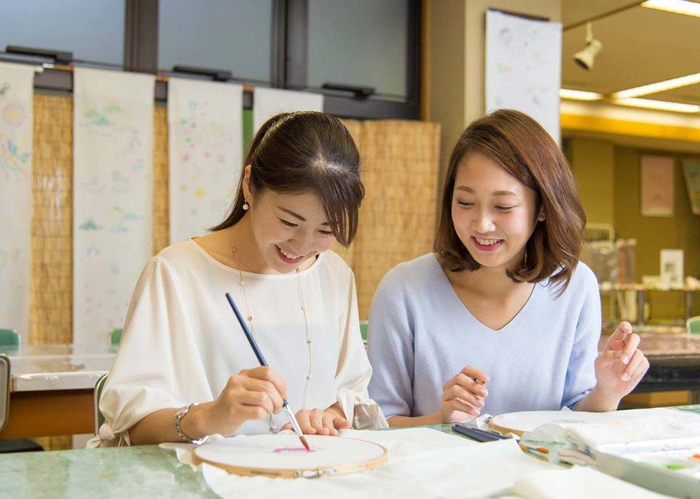 ©  Kaga Yuzen Kimono Center , Have a Go Yourself!