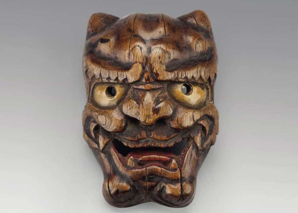 © Wooden Netsuke, 19th Century,  Mudec Museum of Cultures