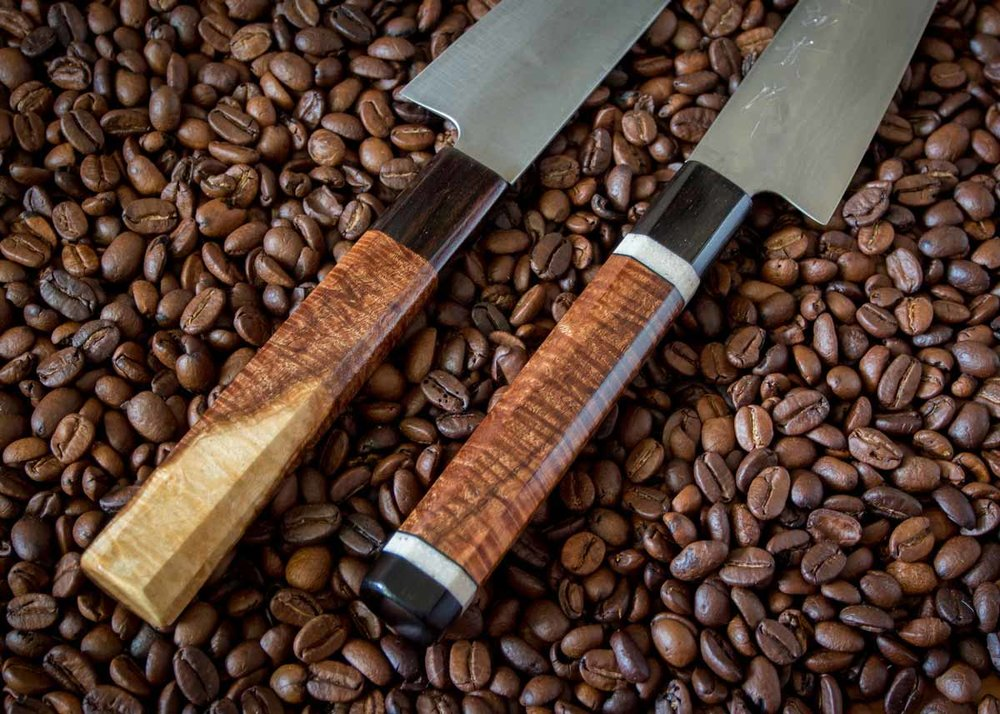 ©  Anton Kudris  /  Creative Commons , Wooden Handled Japanese Knife