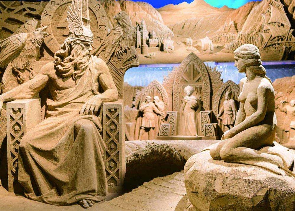 ©  Sand Museum, Tottori