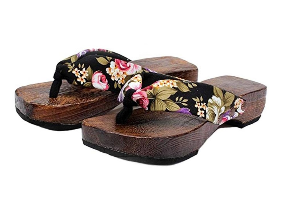 Women's Geta Sandals by Ainiel