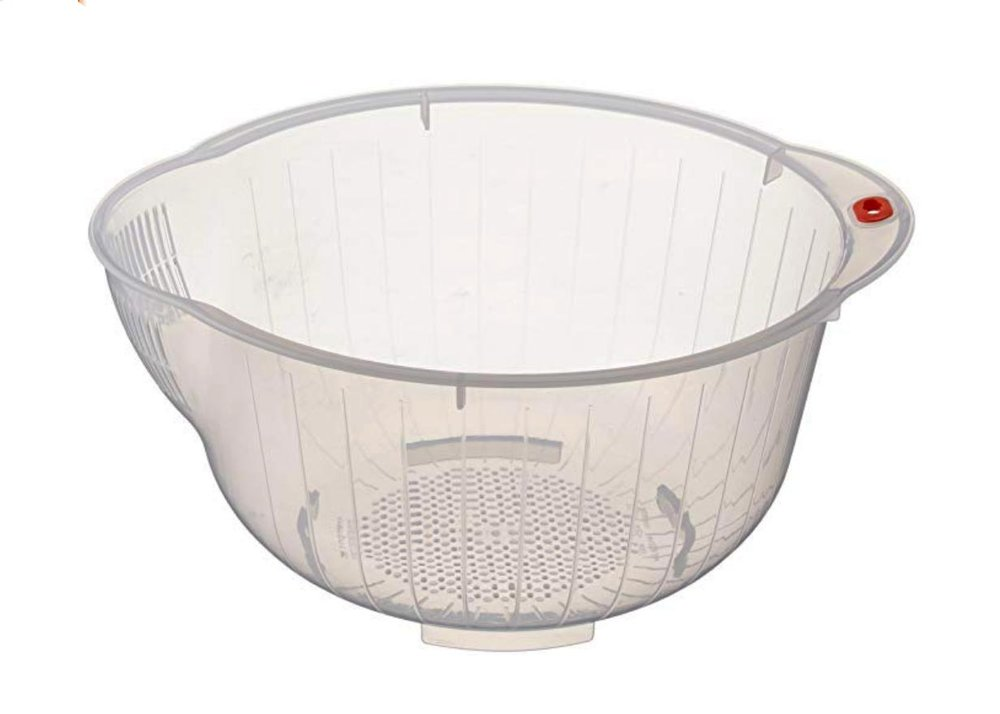 Japanese Rice Washing Bowl by Inomata
