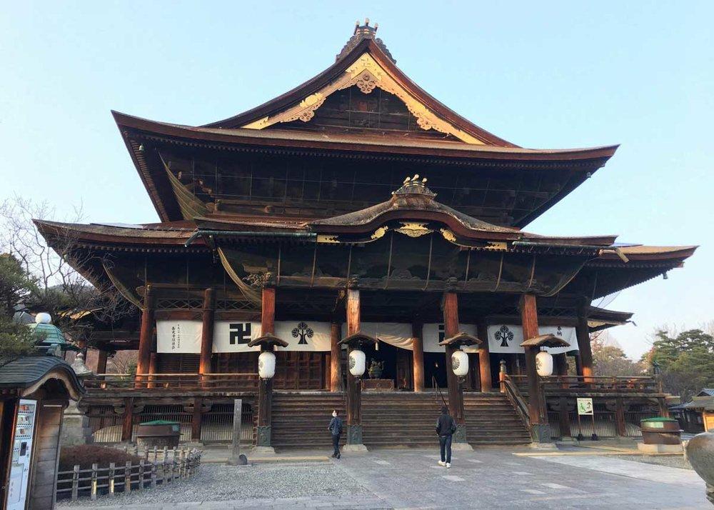 ©  Nagano City , Zenkoji