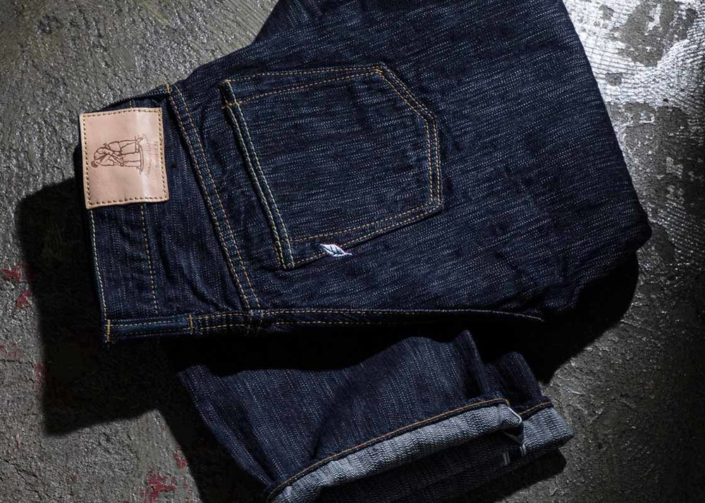 ©  Pure Blue Japan , Indigo-Dyed Jeans