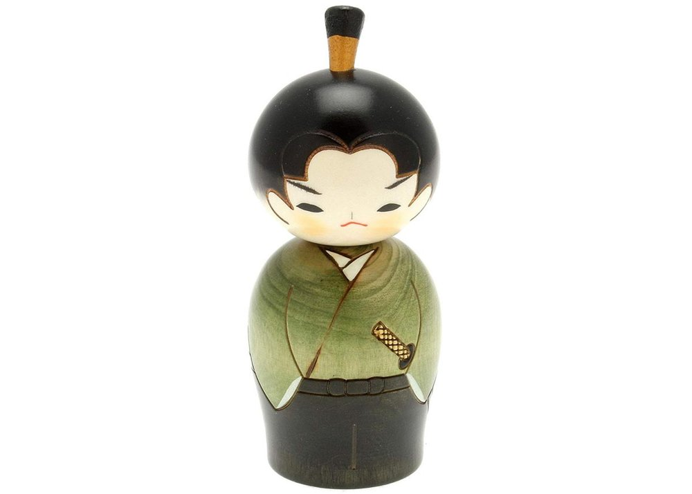 Usaburo Kokeshi Doll, Hiro the Junior Samurai