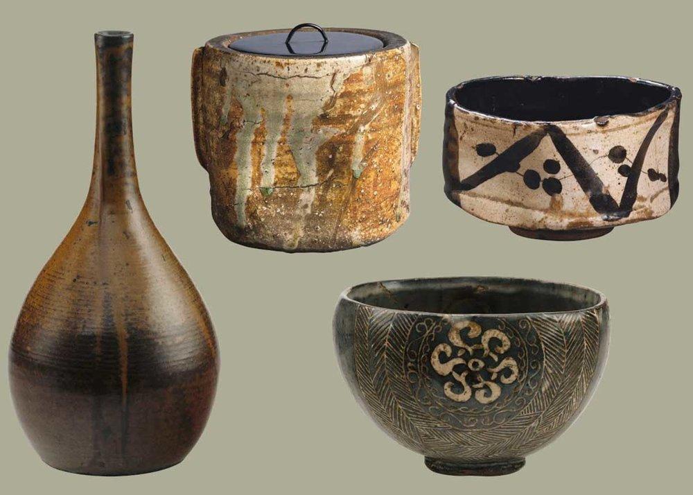 Ceramic Teawear,  Musée des Beaux Arts de Lyon