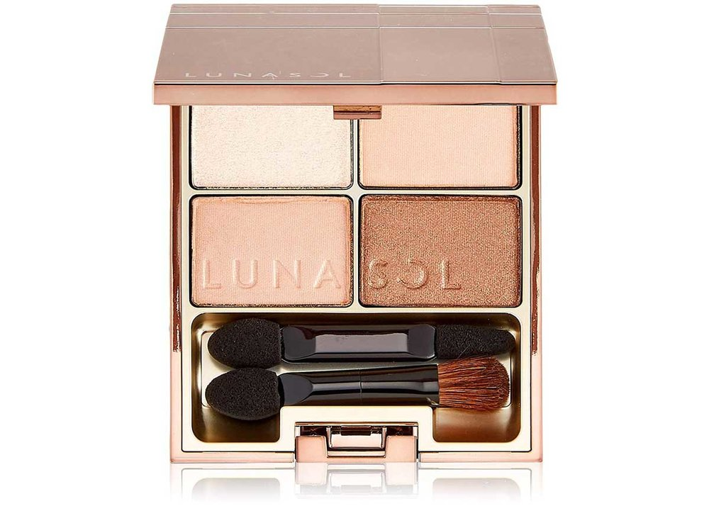 Nude Eyeshadow Quad by Lunasol