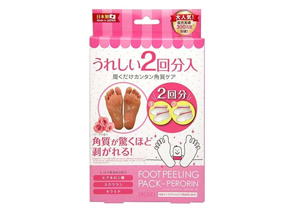Perorin Rose Scented Foot Peeling Masks
