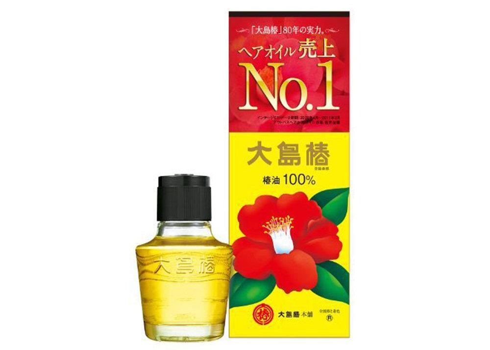 Camellia Hair Oil by Oshima Tsubaki