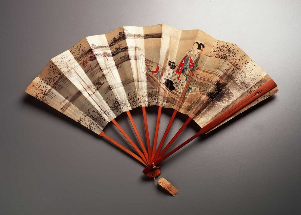 Bamboo Folding Fan,  Museum of Applied Arts and Sciences