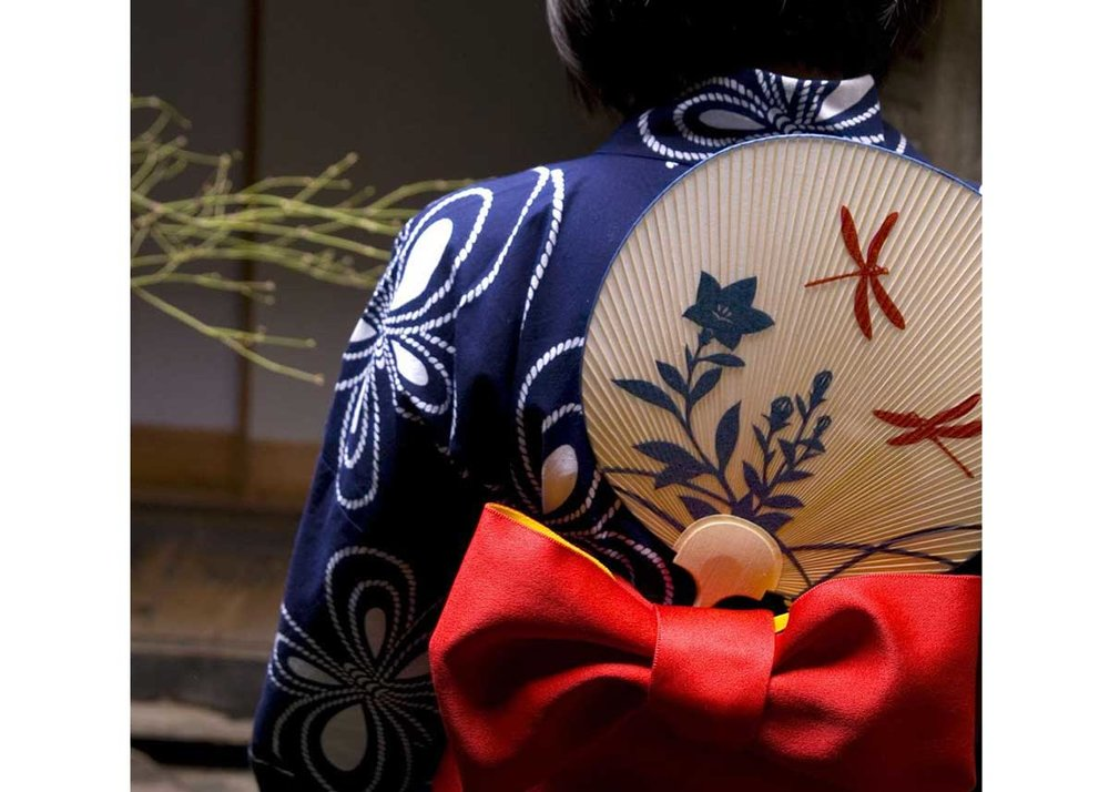 ©  Kyo-Uchiwa Aiba , Uchiwa and Yukata