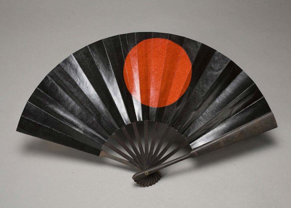 Gunsen War Fan,  Asian Art Museum