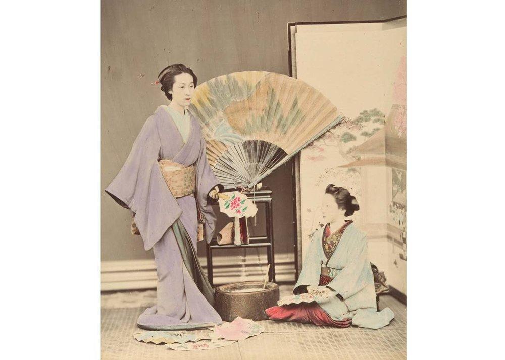 Women with Fans, 1870,  The Met Museum