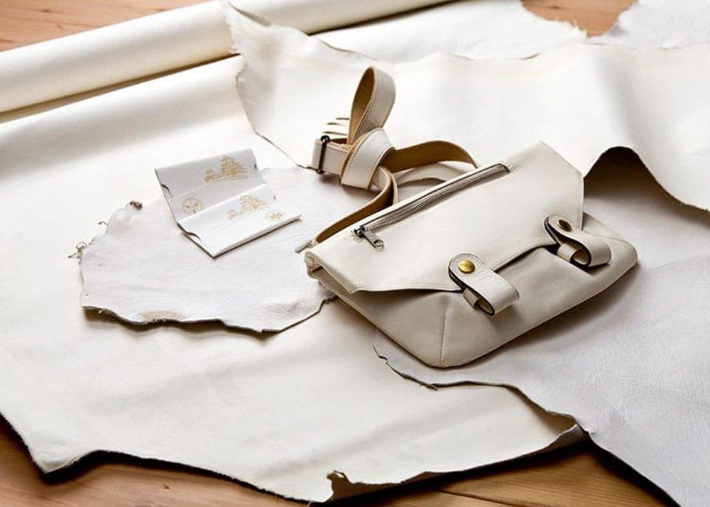 ©  Daisho Leather , White Leather Hides
