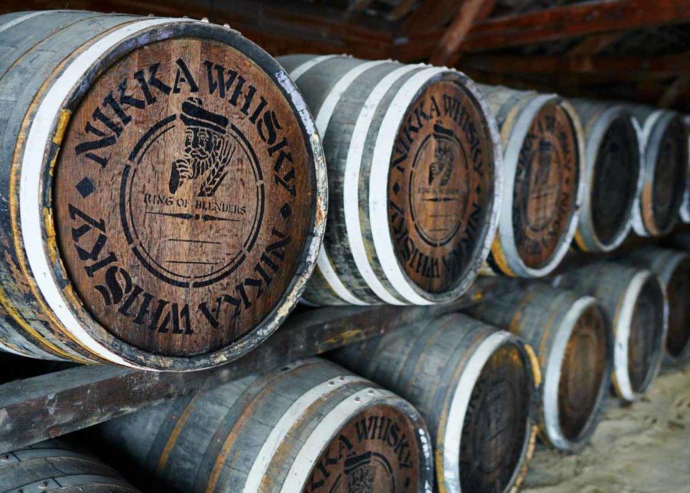 © Matt Vachon, Nikka Whisky Barrels