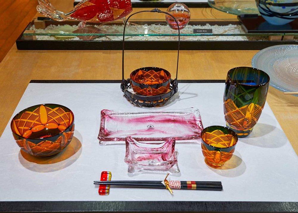 © Matt Vachon, Kitaichi Glass Dining Set