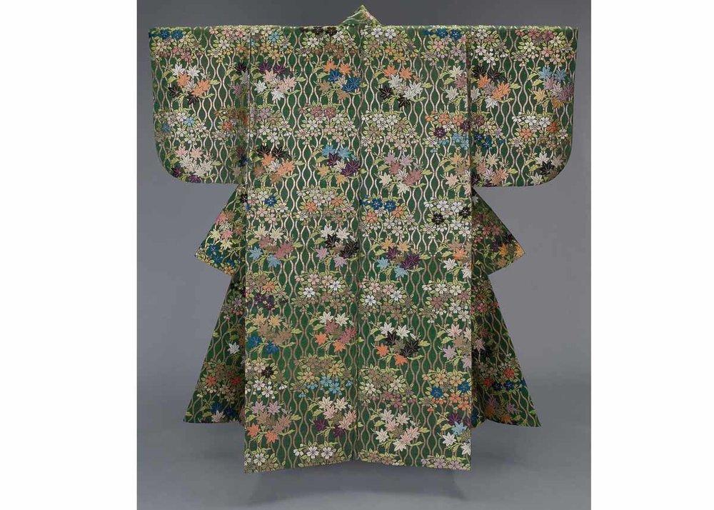 Atsuita Noh Costume, William Sturgis Bigelow Collection,  Museum of Fine Arts