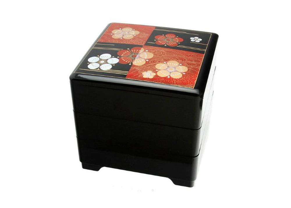 Jubako Lacquer Box by Kotobuki