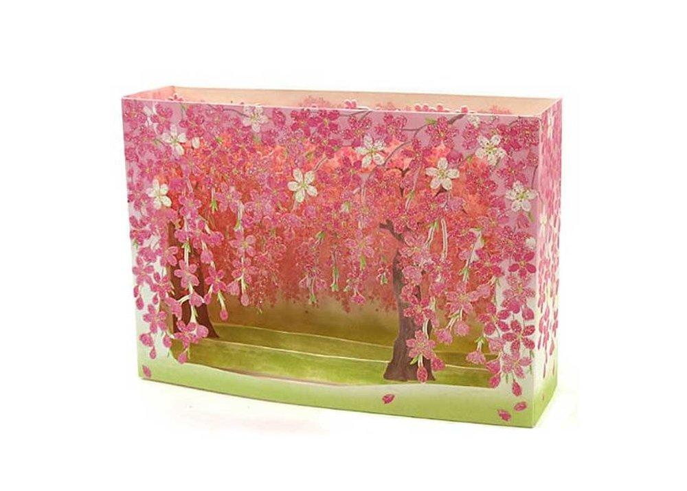 Cherry Blossom Tree Pop-Up Greeting Card by Sanrio