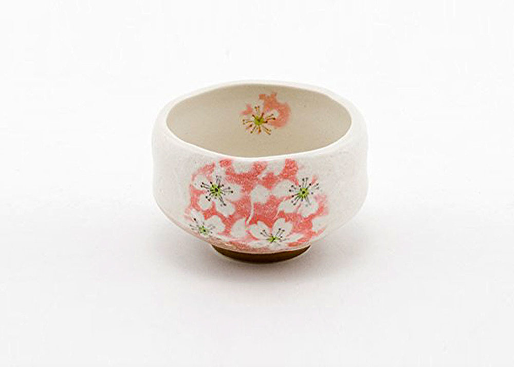 Handmade Matcha Tea Bowl by Hinomaru Collection