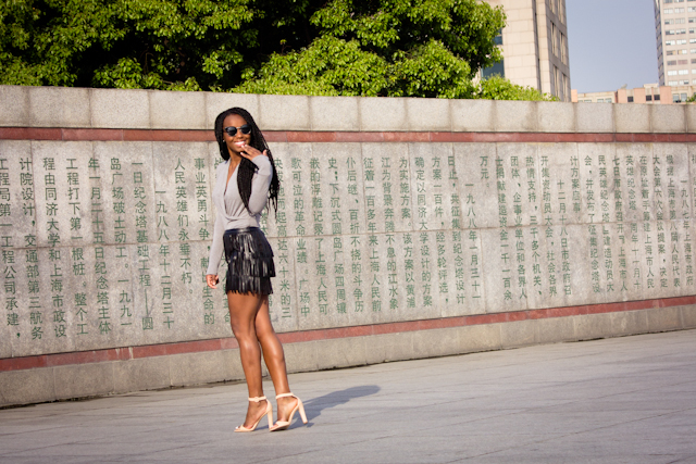 shanghai-the-bund-fringe-leather-hm-skirt (2 of 5)