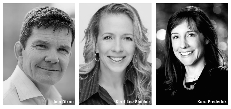 Sbe aUSTRALIA APPOINTS NEW BOARD MEMBERS  iAIN DIXON (LEFT), kERRI LEE SINCLAIR (CENTER), kARA FREDERICK (RIGHT)