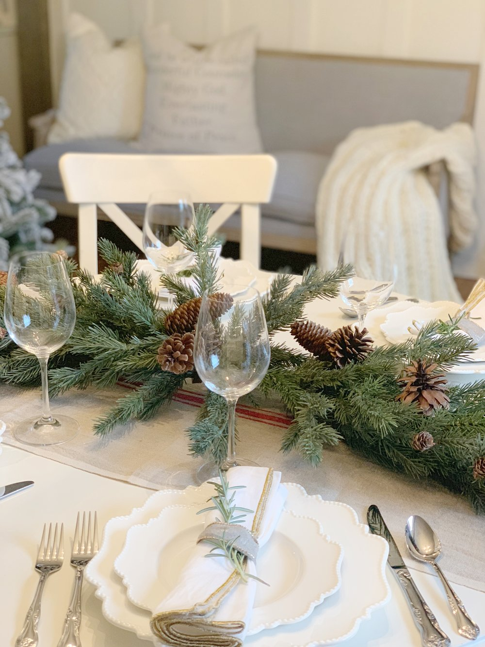 love at the christmas table ending