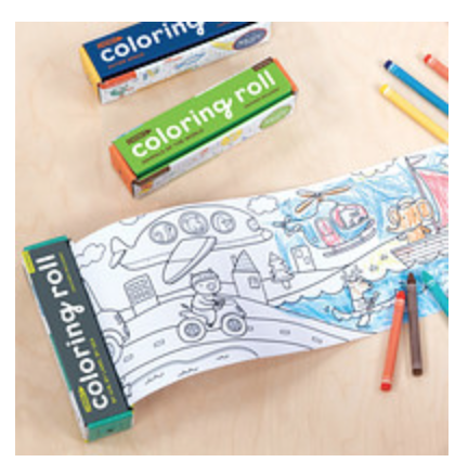 Air, Land, & Sea Mini Coloring Roll