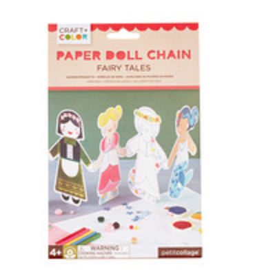 Fairy Tales Paper Doll Chain