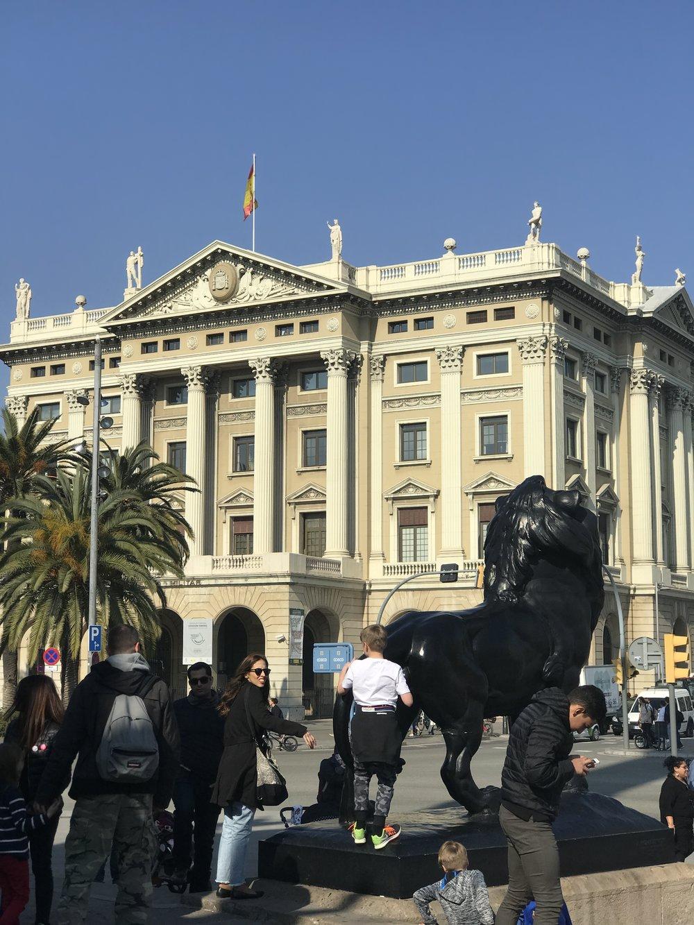 Madrid, Barcelona -
