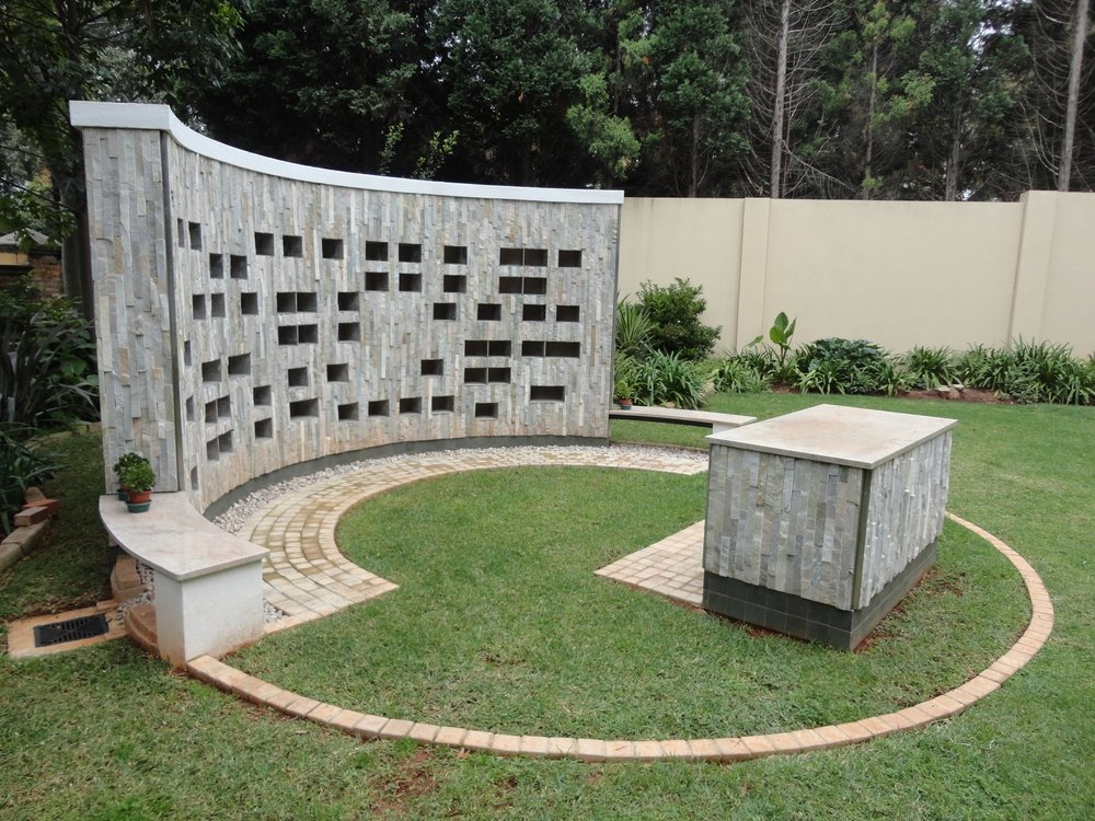st jerome remembrance garden - Houghton, Johannesburg