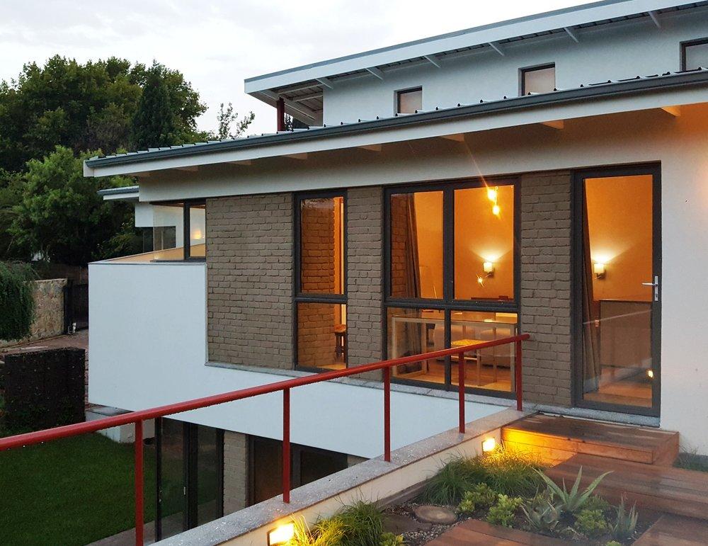 architect's house - Craighall Park, Johannesburg