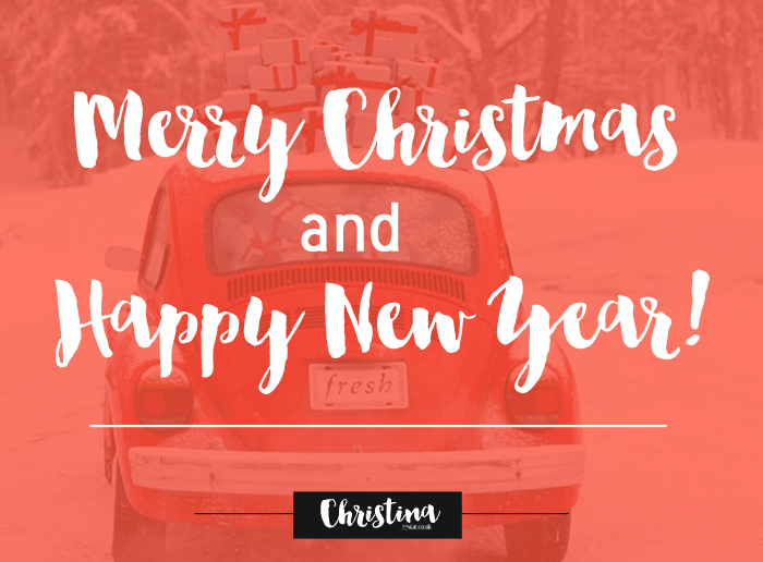 Wishing to all of you Merry Xmas and a Happy New Year! May 2017 bring you closer to your goals! - www.christina77star.co.uk