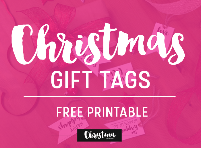 Christmas Gift Tags Free Printable Square Lime Designs
