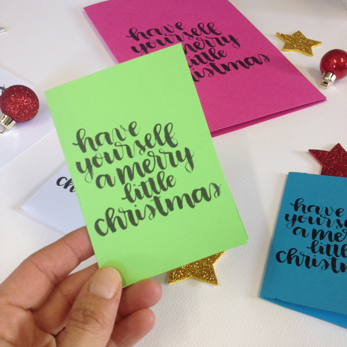 Free Christmas Cards Printable! - www.christina77star.co.uk
