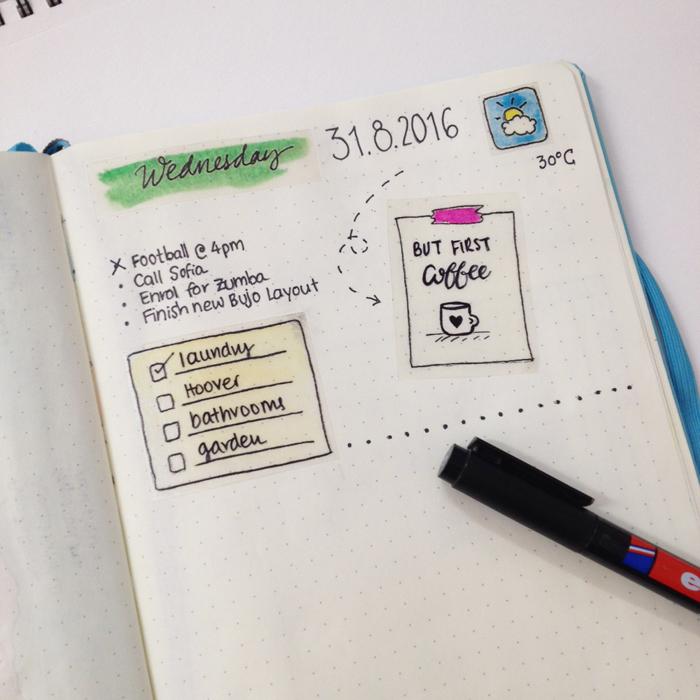 I share with you the way I make my own stickers to use in my bullet journal. It's for those days that you just don't have enough time to doodle anything at all, but you still want to have fun and be creative with your journal. - www.christina77star.co.uk